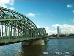 Cologne Bridge by Day